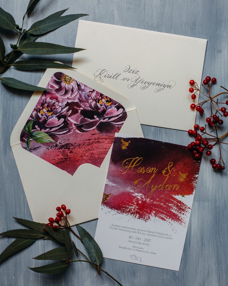 Wedding invitations – Ninka