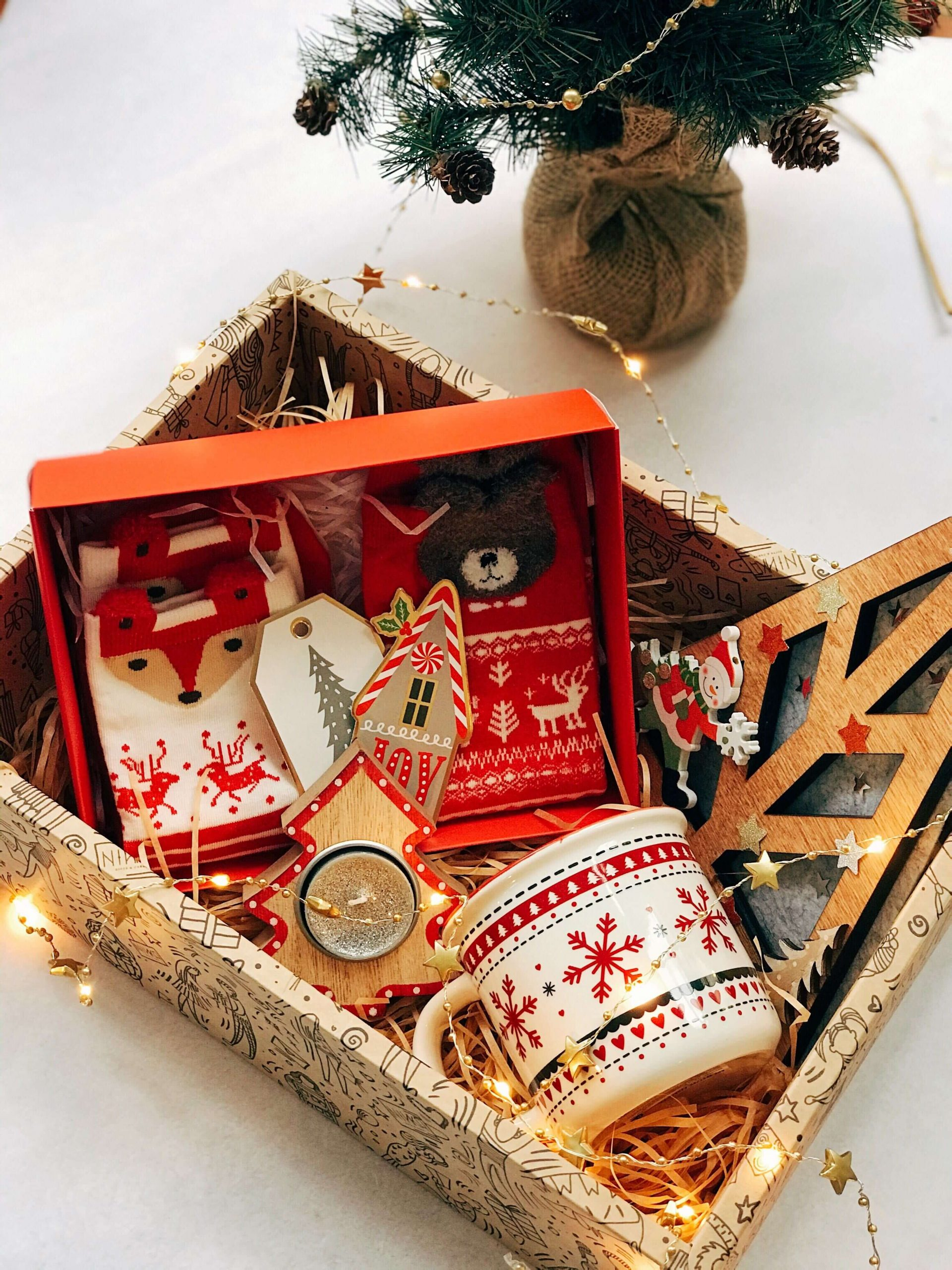 a giftbox full of handpicked designer gifts