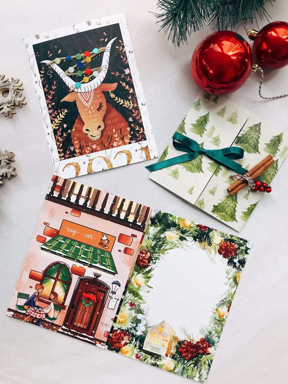 unique greeting cards designed by ninka cards